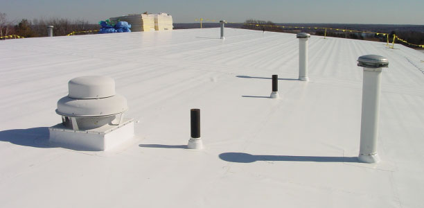 pvc flat roof